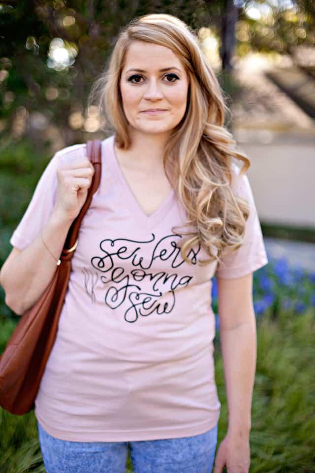 Sewers Gonna Sew - Graphic Tee $20 seekatesew.bigcartel.com