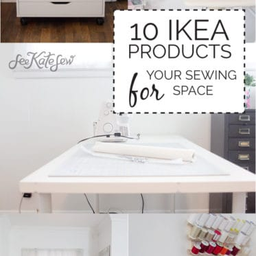 10 IKEA PRODUCTS FOR YOUR SEWING SPACE