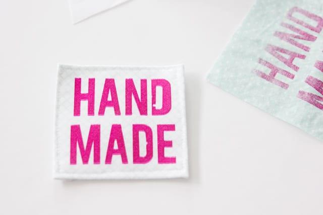 HANDMADE silkscreen labels