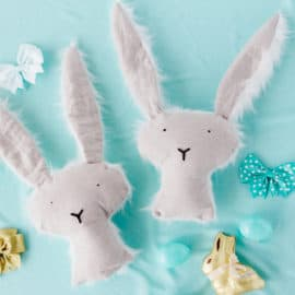 FREE stuffed bunny pattern