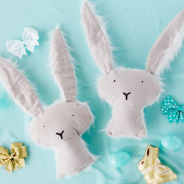 FREE stuffed bunny pattern + tutorial | Stuffed Bunny Tutorial | Stuffed Animal Tutorial | Stuffed Bunny Pattern | Toy Pattern | How to Make a Stuffed Bunny | Free Pattern || See Kate Sew #freepattern #sewingtutorial #seekatesew