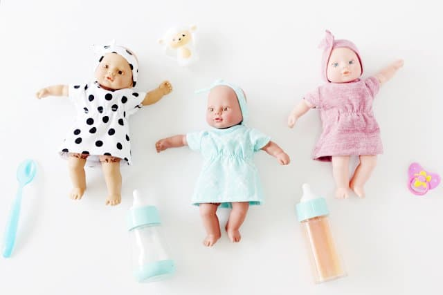 free baby doll dress pattern! (with matching headband!) - see kate sew