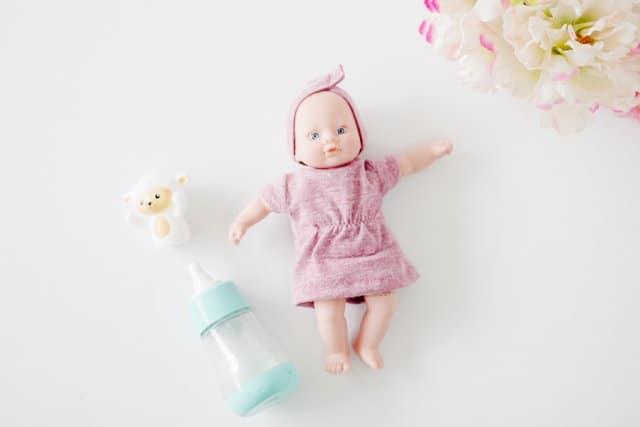 FREE mini baby doll dress and headband pattern