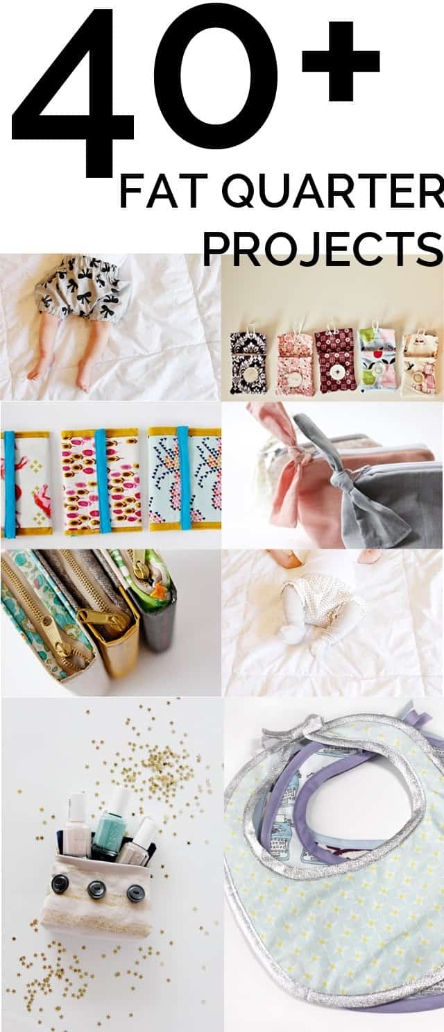 40+ FAT Quarter Projects | fat quarter sewing projects | easy fat quarter sewing projects | fat quarter sewing projects for beginners | small fabric sewing projects | quick sewing projects | easy sewing projects | sewing tips and tricks || See Kate Sew #fatquarterproject #fatquarters #sewingproject