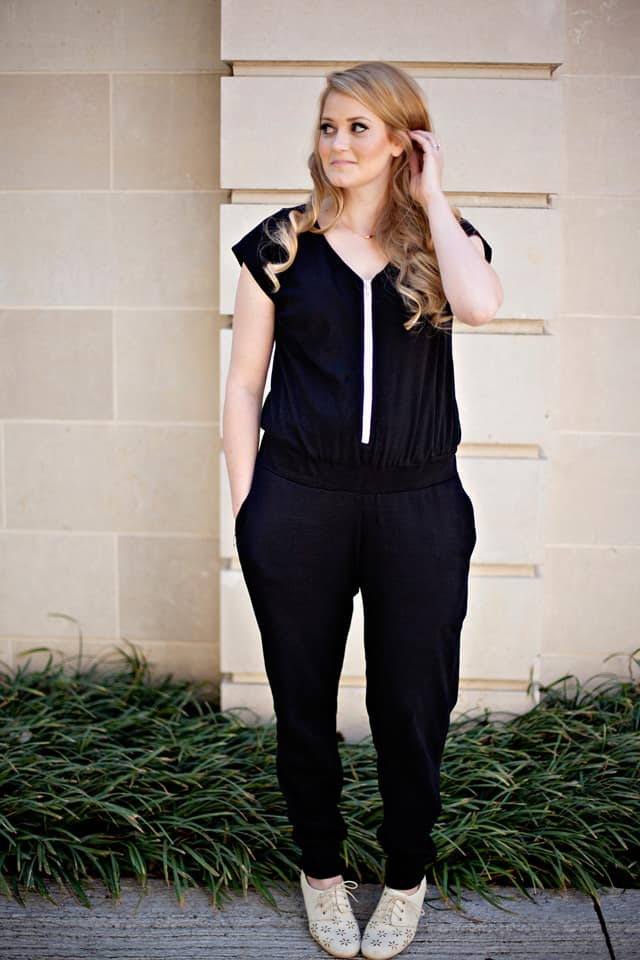DIY jumpsuit | diy clothing for summer | jumpsuit sewing pattern | diy jumpsuit for women | how to sew a jumpsuit || See Kate Sew #diyclothing #jumpsuit #diyjumpsuit