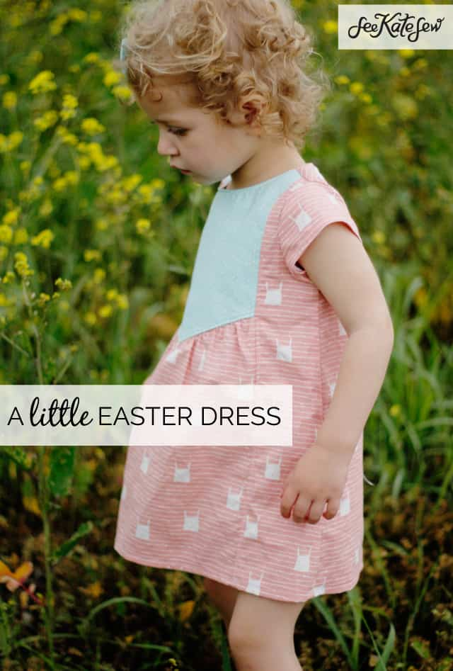 A Little Easter Dress//See Kate Sew