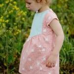 a little Easter dress