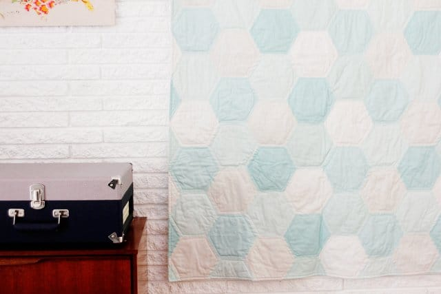 ONE HOUR HEXIE QUILT | See Kate Sew