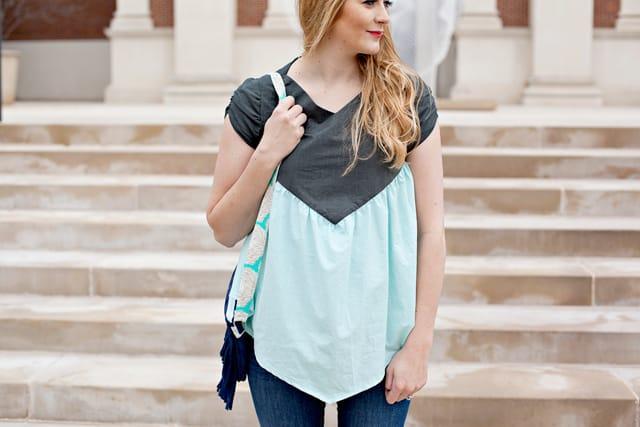 The SOHO blouse | See Kate Sew