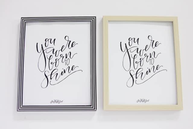 You Were Born to Shine Printable | See Kate Sew