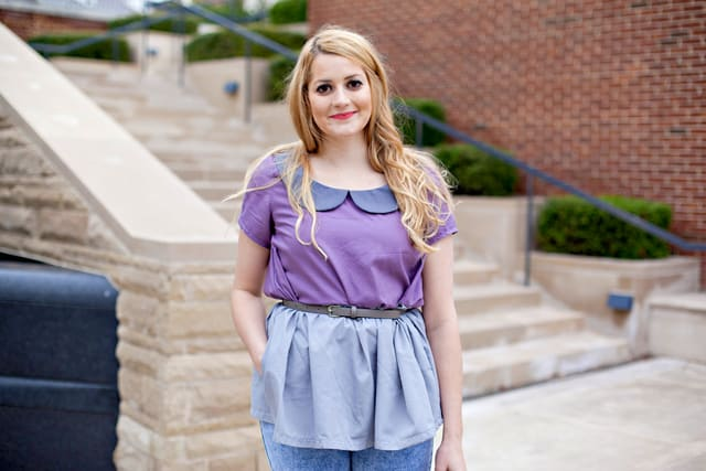 colorblock OLIVE top | See Kate Sew