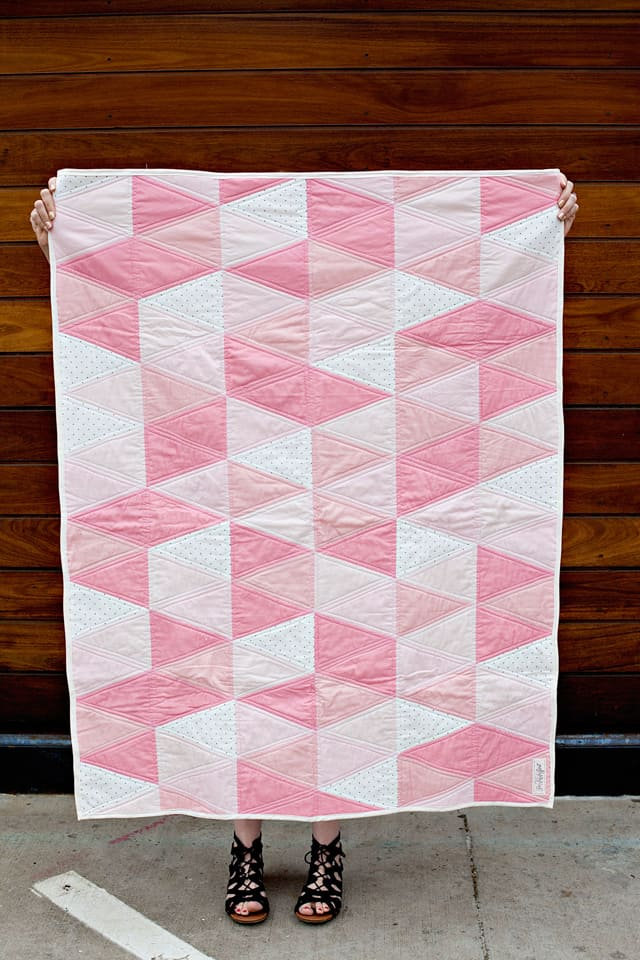 One Hour Triangle Quilts Colors | See Kate Sew
