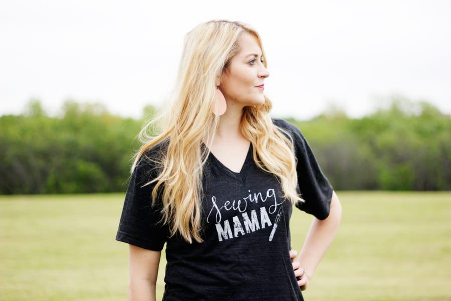 Sewing Mama | Sewing Graphic Tees