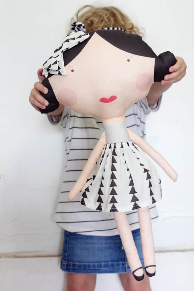 Printed Doll Fabric