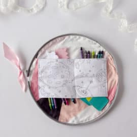 Half Circle Zip Organizer | See Kate Sew