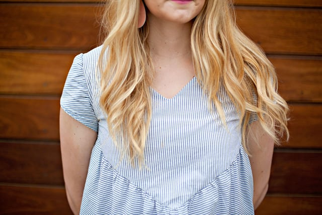the SOHO top pattern   See Kate Sew