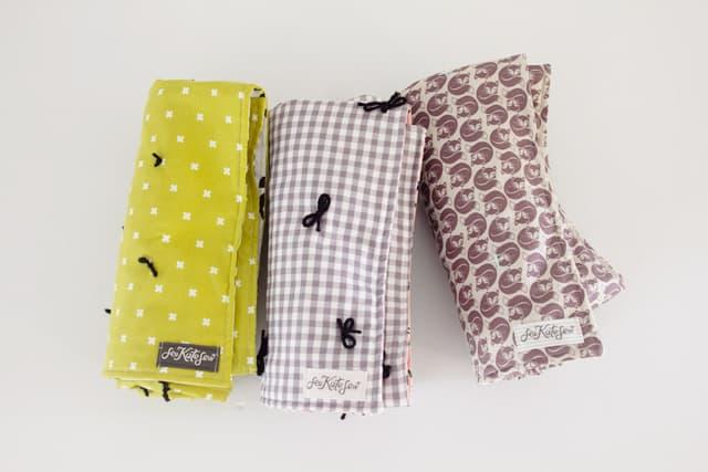 Yarn Tied Baby Blanket Tutorial | See Kate Sew