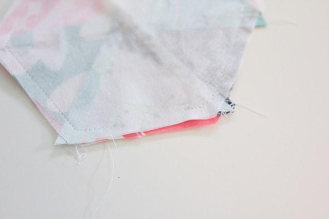 Hexagon Pom Pom Pincushion Tutorial | See Kate Sew