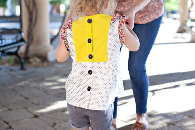 The CALLIE + AVERY top patterns by See Kate Sew