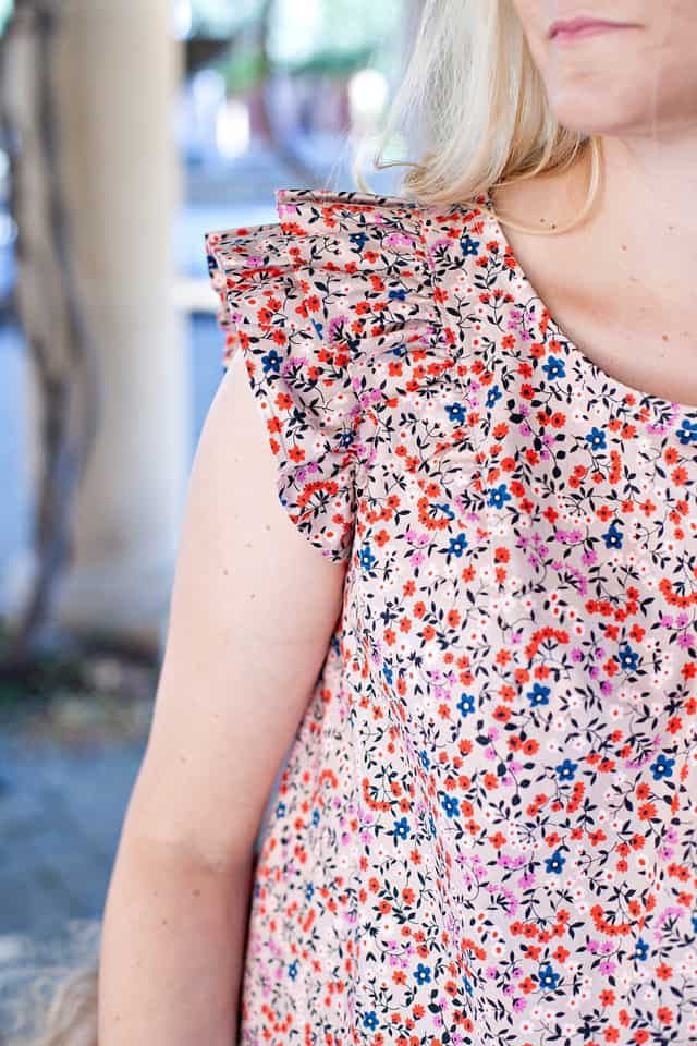 The CALLIE top pattern by See Kate Sew