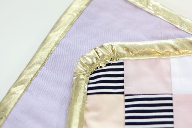 Sherbet Doll Quilt