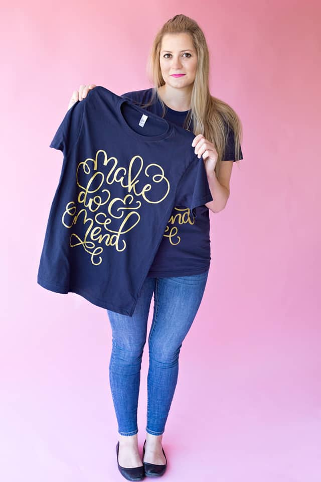 MAKE DO & MEND tee // seekatesew.bigcartel.com $24