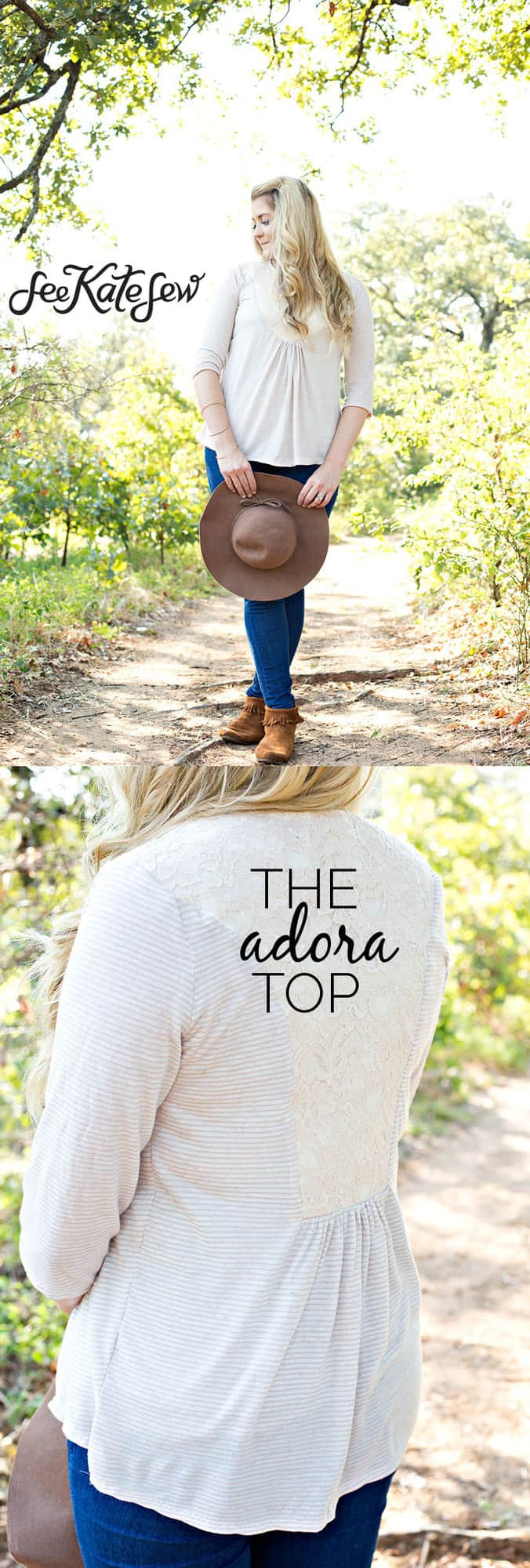 The Adora Top | See Kate Sew