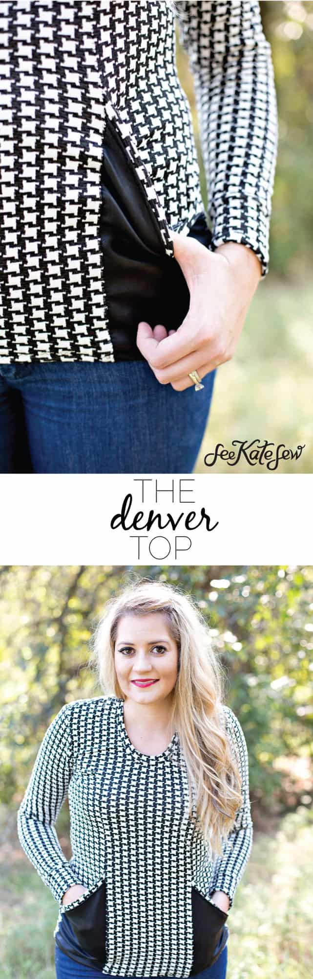 The Denver Top|See Kate Sew