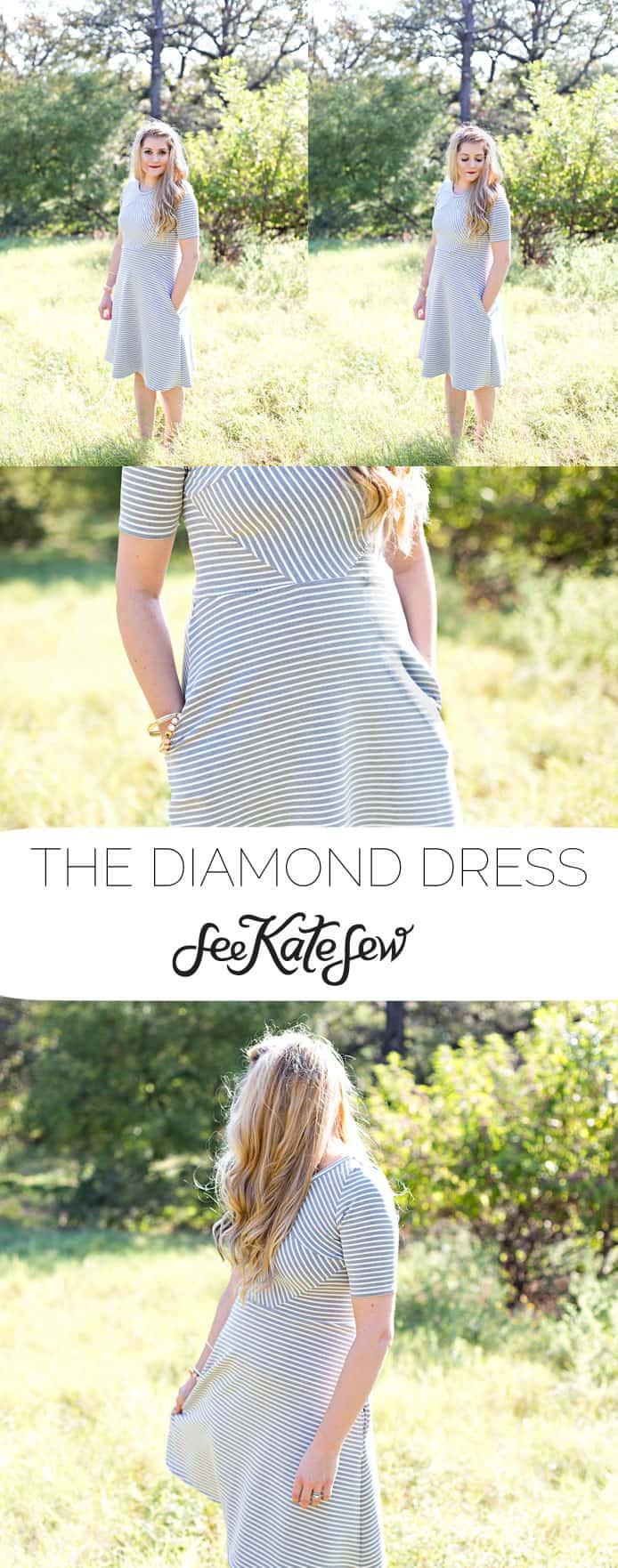 The Diamond Dress  See Kate Sew