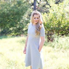 The Diamond Dress | SeeKateSew.com