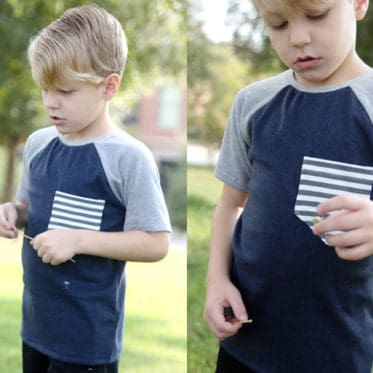 Recess Raglan Front Pocket Add-on | See Kate Sew