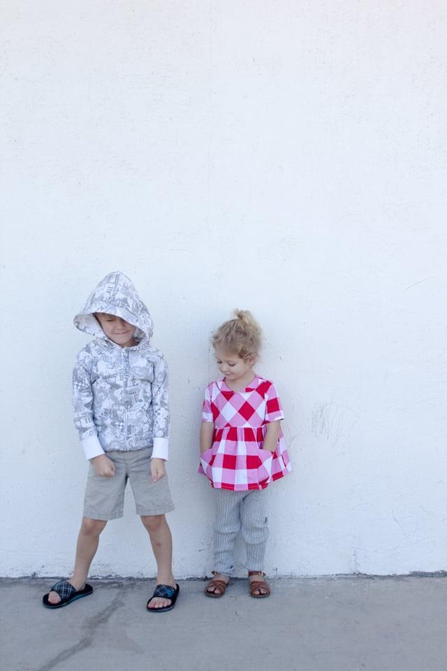 Recess Raglan Hoodie Tutorial | See Kate Sew