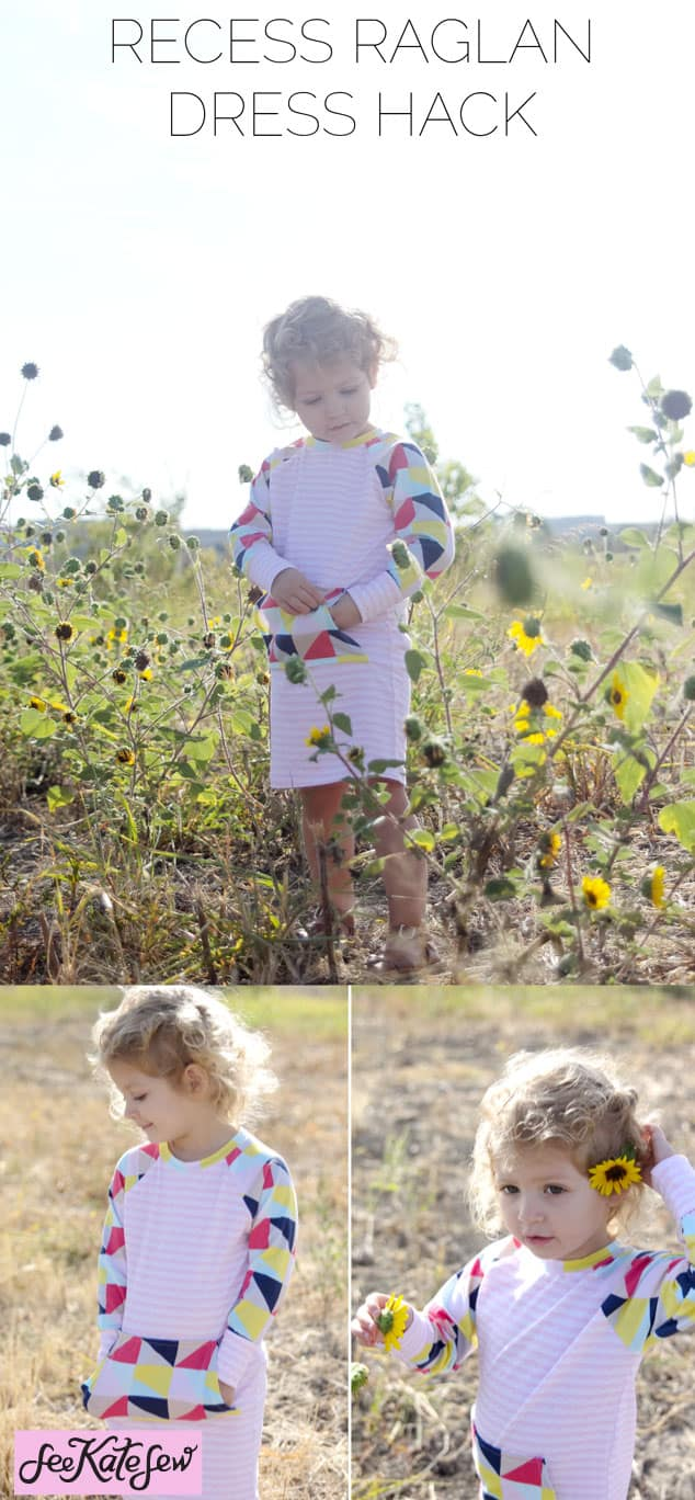 Recess Raglan Dress Hack|See Kate Sew