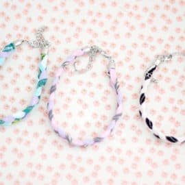Scrap Fabric Friendship Bracelets | See Kate Sew