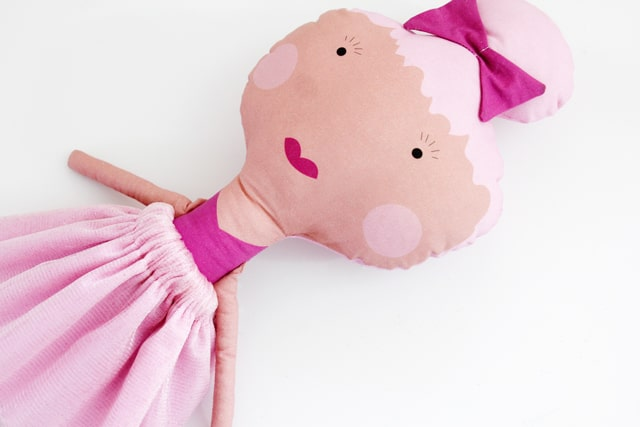 Make your own doll with doll fabric! | See Kate Sew