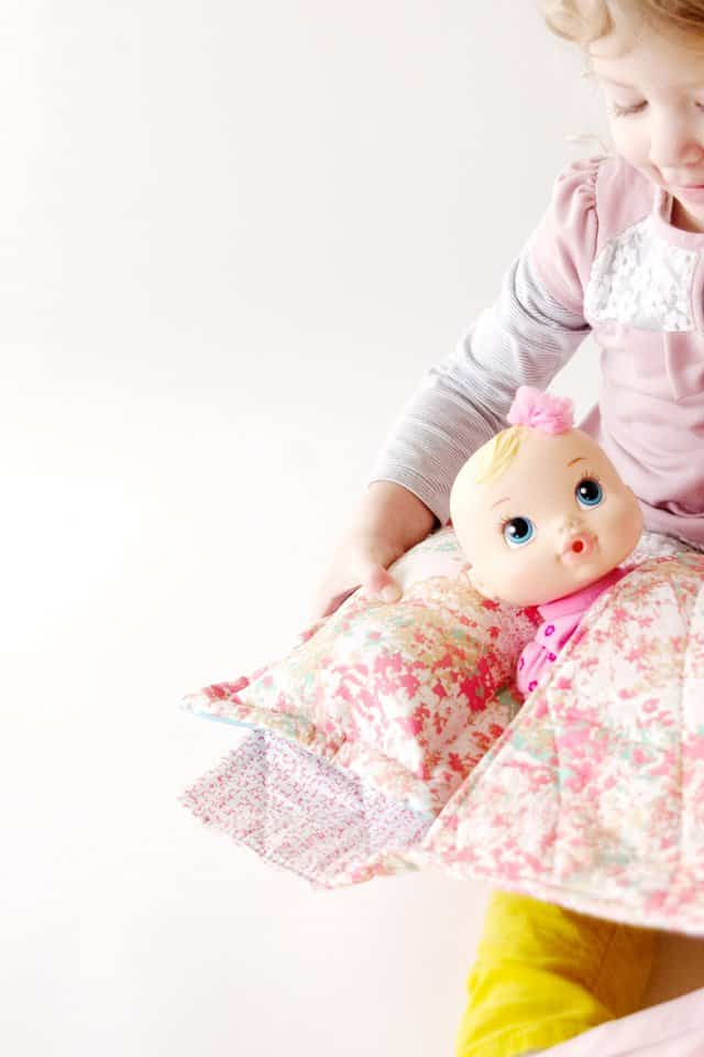 Easy Doll Sleeping Bag Tutorial See Kate Sew