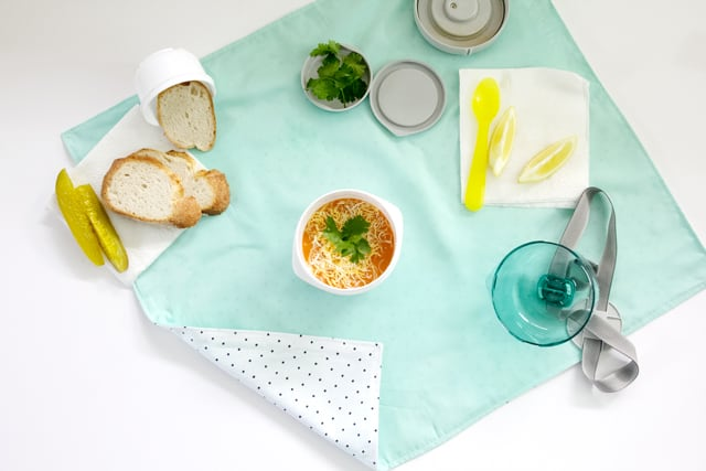 Bento Lunch Wrap + Napkin | See Kate Sew