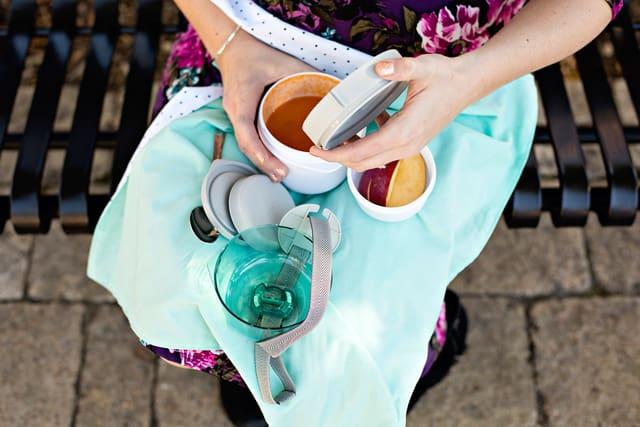 Bento Lunch Wrap + Napkin   See Kate Sew