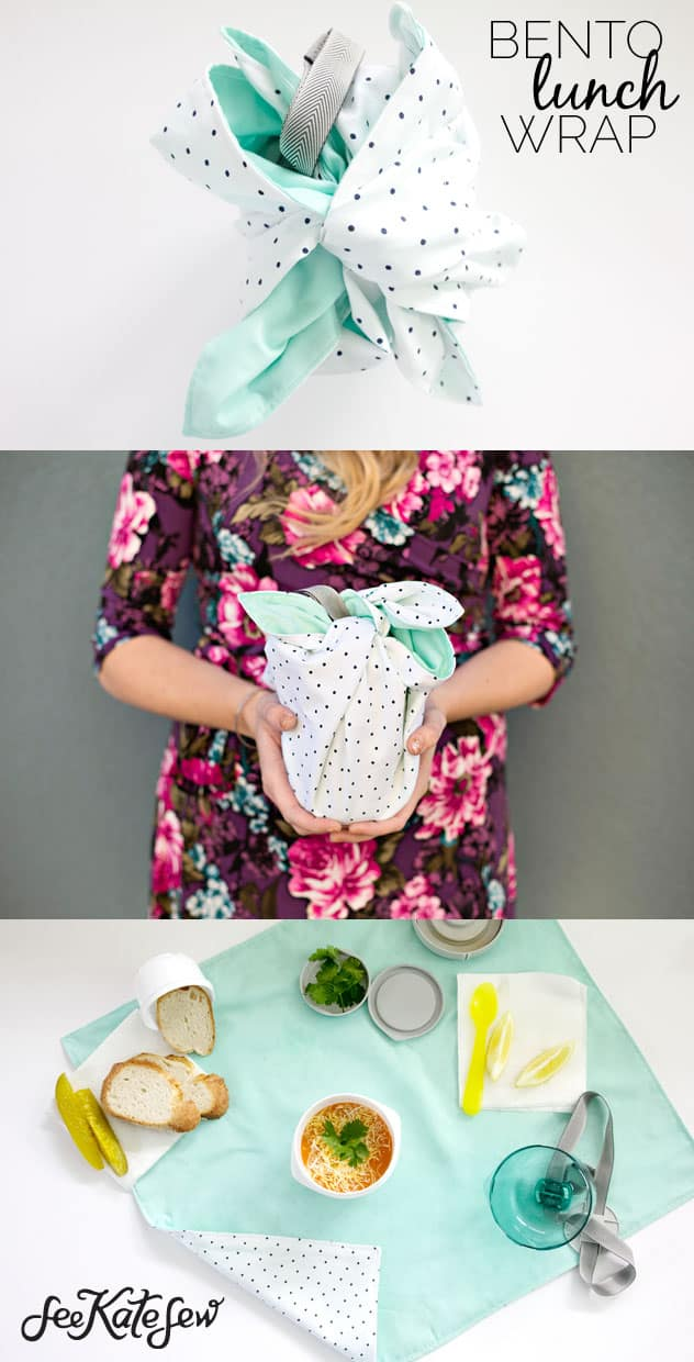 Bento Lunch Wrap DIY | See Kate Sew