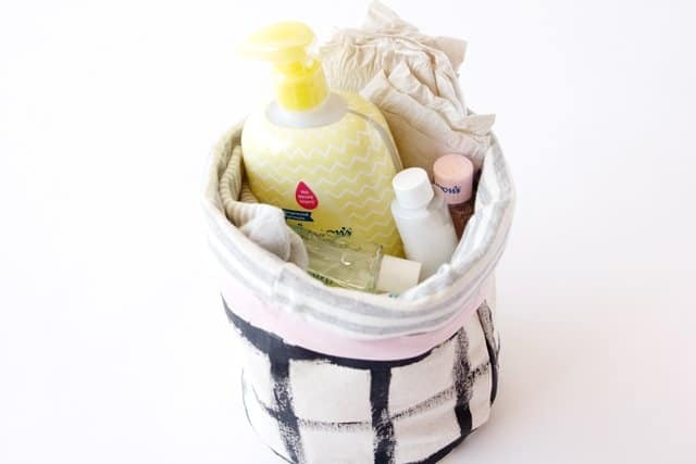Fabric Basket Tutorial | See Kate Sew