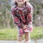 Plaid Flannel Winter Dress