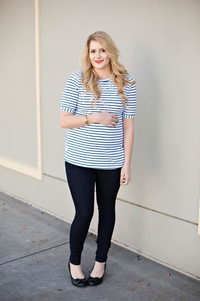 the BLAIR maternity TEE | See Kate Sew