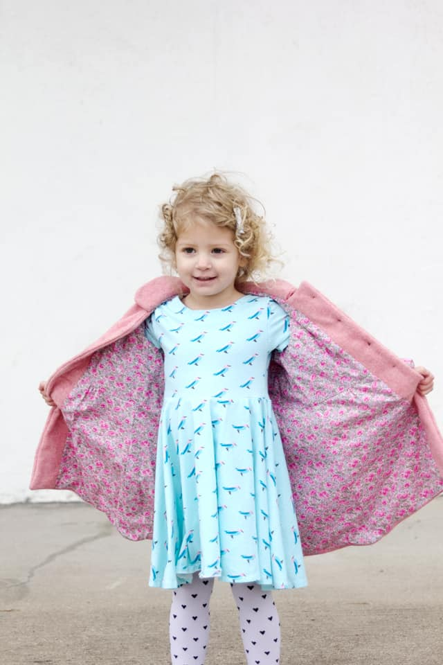 Pippa Peplum + Bubblegum Coat | See Kate Sew