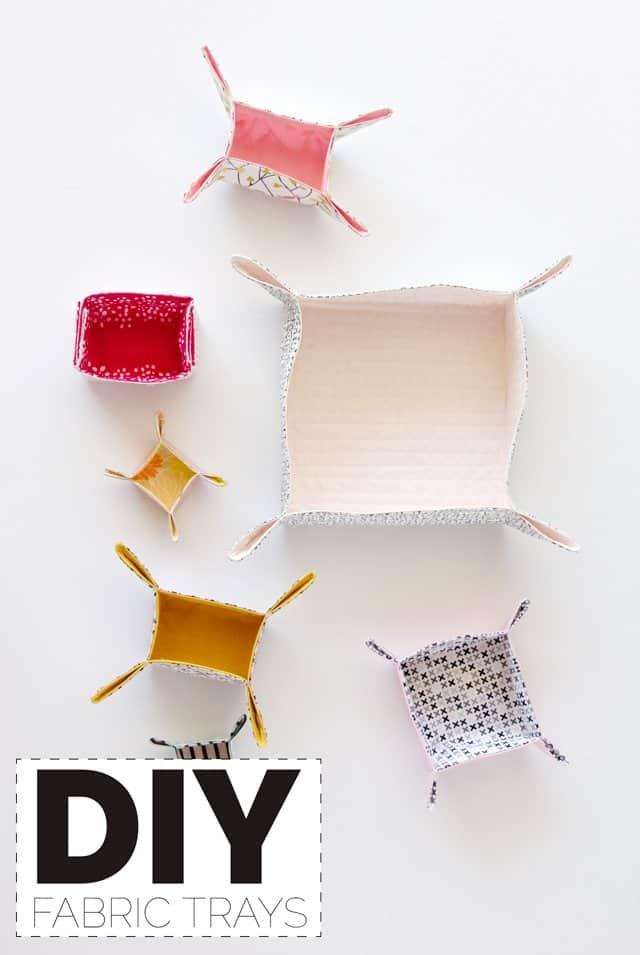 DIY Fabric Trays with FREE Pattern! | See Kate Sew