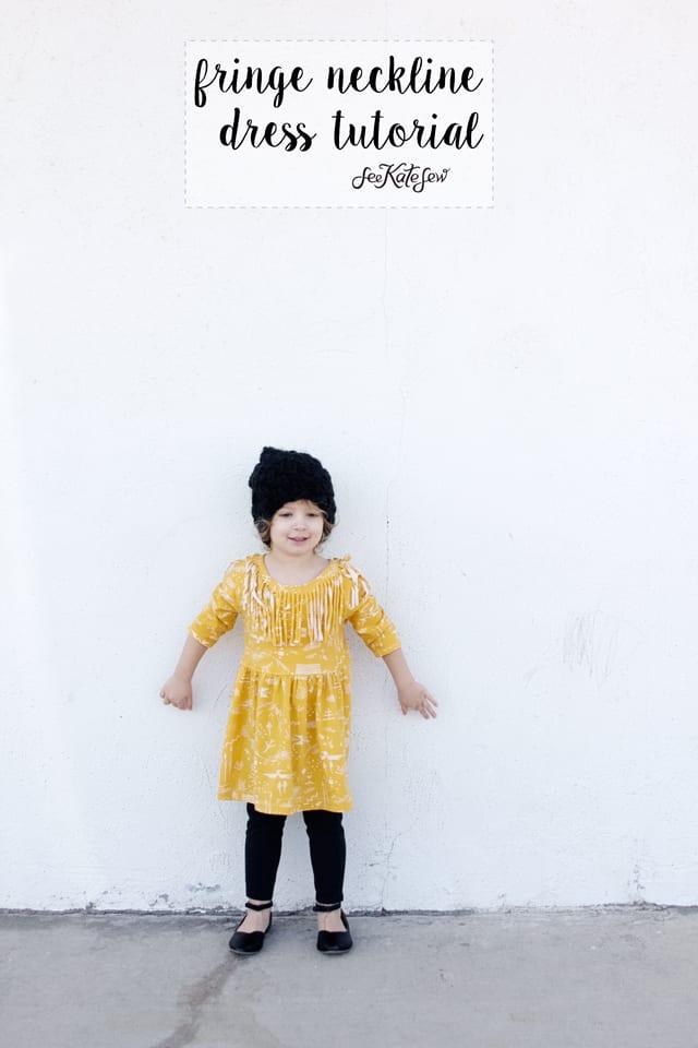 FRINGE neckline tutorial| See Kate Sew
