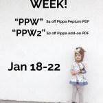 Pippa Peplum Sew-along Starts Monday!