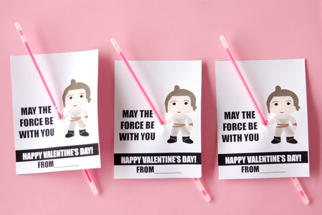 Rey Light Saber Valentines | See Kate Sew