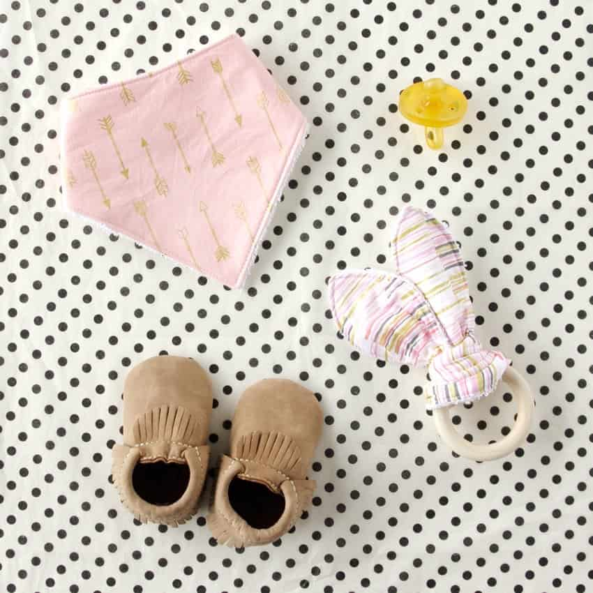 Wooden Ring Teething Toy Tutorial | See Kate Sew