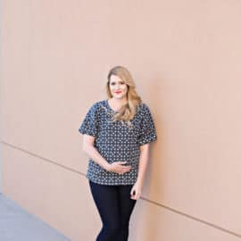 the DREAMER top pattern | See Kate Sew