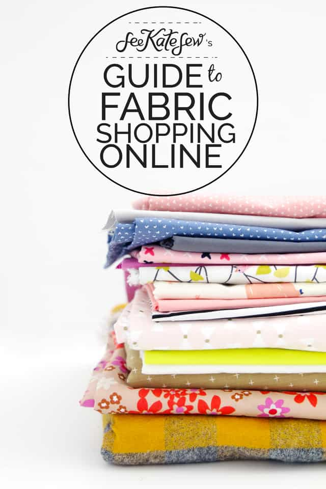 Guide to Fabric Shopping Online | buying fabric online | sewing tips and tricks | online fabric buying guide || see Kate sew #buyingfabric #sewingtips #fabricbuyingguide